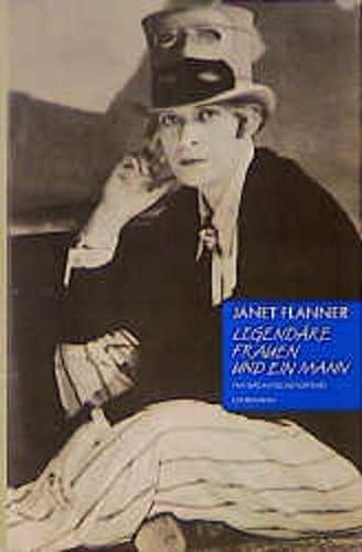 Legendäre Frauen und ein Mann. Transatlantische Portraits. - Flanner, Janet