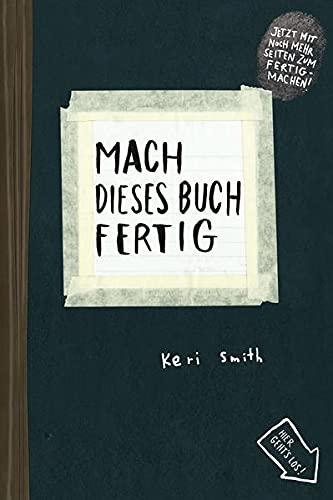 Mach dieses Buch fertig: Kunstmann Antje GmbH