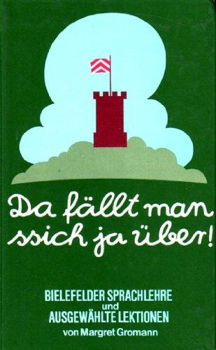 9783889180070: Da fällt man ssich ja über!. Bielefelder Sprachlehre