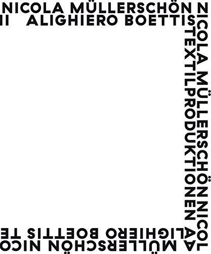 9783889601421: Alighiero Boettis Textilproduktionen