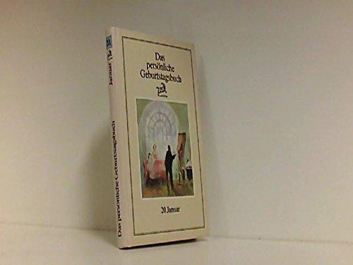 9783889710208: Das persönliche Geburtstagsbuch - 20. Januar - bk1086