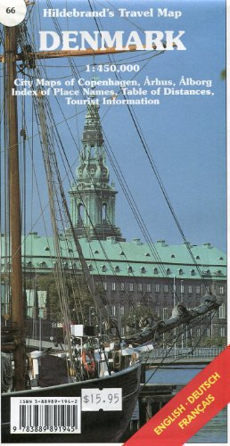 Hildebrand's Urlaubskarten; Hildebrand's Travel Maps, Nr.66, Dänemark: Hildebrand: