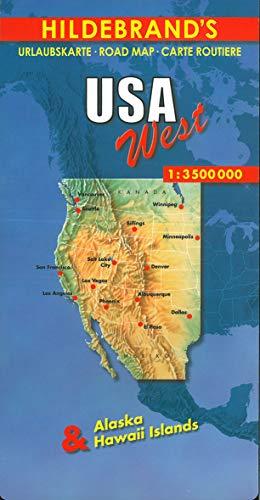 9783889892799: USA West 1 : 3 500 000. Hildebrand\'s ...