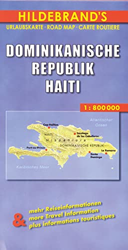 9783889893086: Carte routi�re : Dominikanische Republik, Haiti