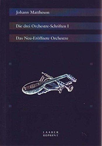 9783890073804: Die drei Orchestre-Schriften, 3 Bde.