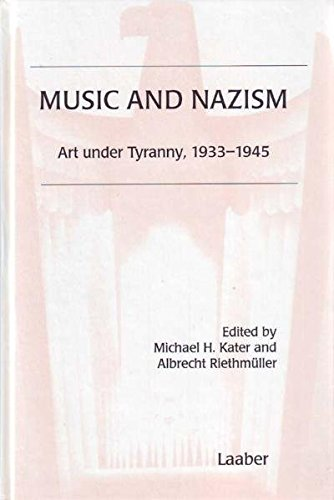 9783890075167: Music and Nazism.