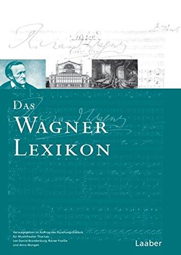 Das Wagner-Lexikon: Laaber Verlag