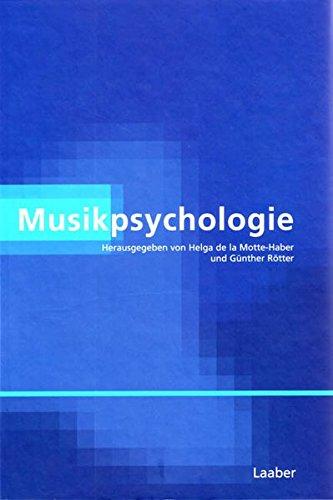 9783890075648: Musikpsychologie.