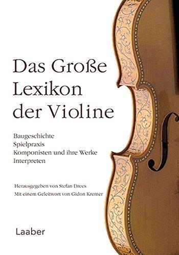 9783890076973: Das große Lexikon der Violine