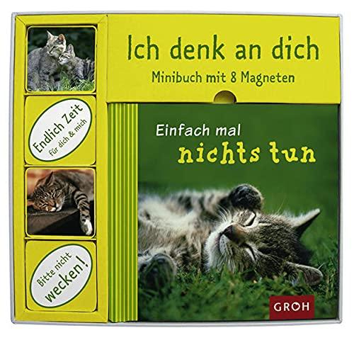 9783890084602: Einfach mal nichts tun, Minibuch m. 8 Magneten
