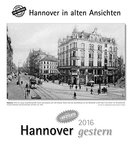 9783890138336: Hannover gestern 2016