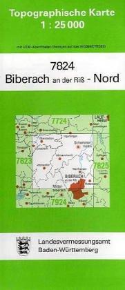 9783890212111: Biberach an der Riß Nord 1 : 25 000
