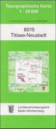 9783890212340: Titisee-Neustadt 1 : 25 000