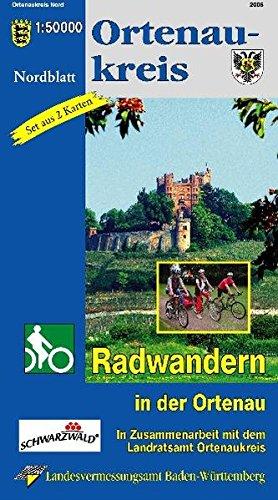 9783890217321: Ortenaukreis 1 : 50 000. Radwanderkarte Nord- und Südteil: Incl. Straßburg