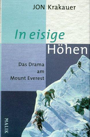 9783890291109: In eisige Höhen Das Drama am Mount Everest