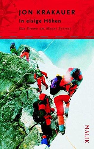 9783890292397: In eisige Höhen: Das Drama am Mount Everest