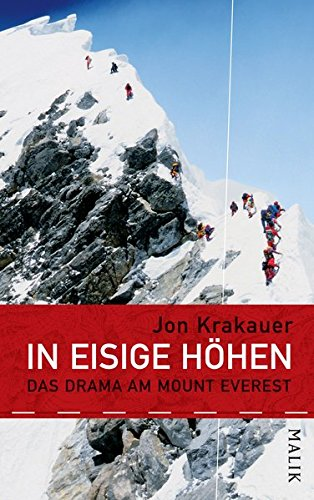 9783890293141: Into Thin Air, A Personal Account of the Mt. Everest Disaster