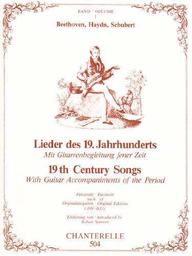 19th Century Songs: Beethoven, Haydn and Schubert (Chanterelle) (German Edition): Ludwig van ...