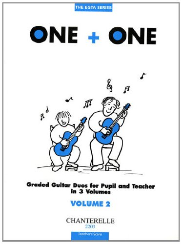 One + One Vol. 2 Teacher's Score Duos For Pupil & Teacher (The Egta Series) (3890441831) by Richard Wright