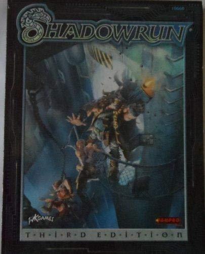 Shadowrun 3rd Edition, 1st Printing (Shadowrun (3rd Edition) (Fanpro))