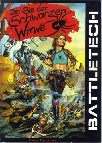 9783890649016: Der Biss der Schwarzen Witwe. BattleTech-Szenarioband
