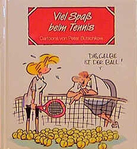 9783890827797: Viel Spaß beim Tennis: Cartoons und Texte