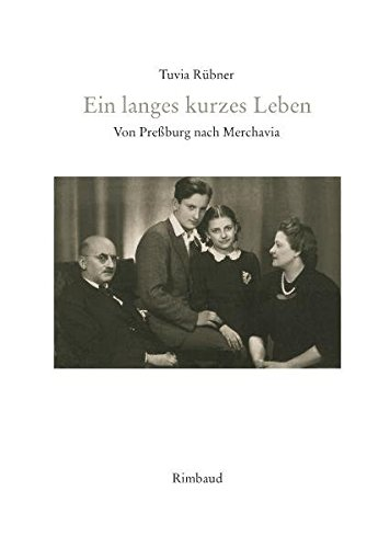 9783890866642: Ein langes kurzes Leben: Von Pressburg nach Merchavia. Biographische Erinnerungen