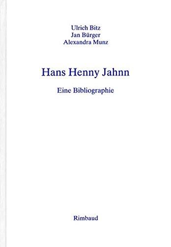 Hans Henny Jahnn: Ulrich Bitz