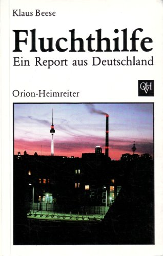 9783890930008: Fluchthilfe: Ein Report aus Deutschland
