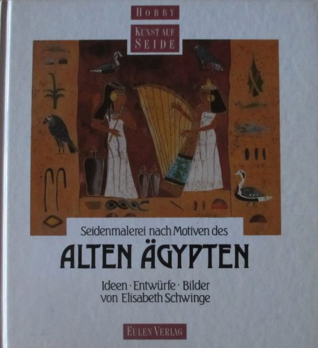9783891022757: Seidenmalerei nach Motiven des Alten Ägypten