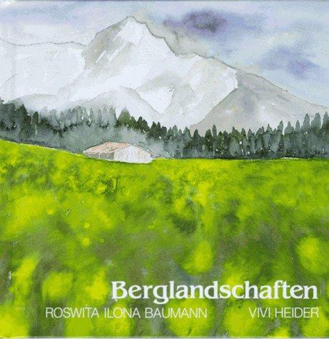 9783891023334: Berglandschaften