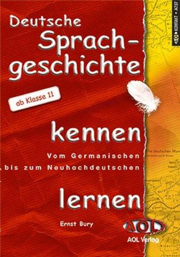 9783891117378: Deutsche Sprachgeschichte kennenlernen.