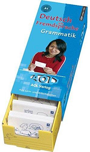 9783891117743: DaF Grammatik Niveau A 1: Lern- und Arbeitskartei. Klasse 8-13 und Erwachsene