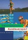9783891244098: Trainingsplaner Ausdauersport