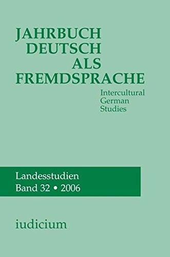 Jahrbuch Deutsch als Fremdsprache 32/2006: Andrea Bogner