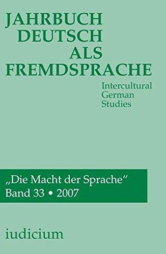 Jahrbuch Deutsch als Fremdsprache: Andrea Bogner