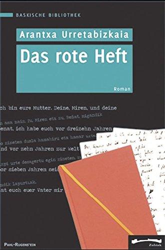 9783891443828: Das rote Heft. Roman