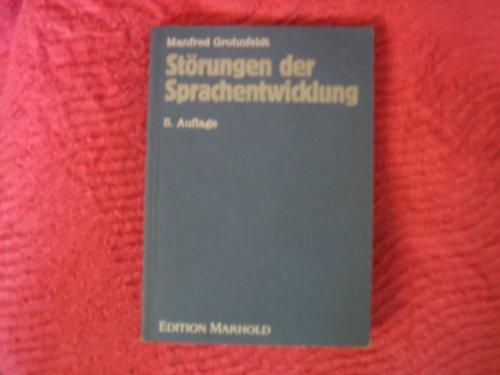 Störungen der Sprachentwicklung: Manfred Grohnfeldt