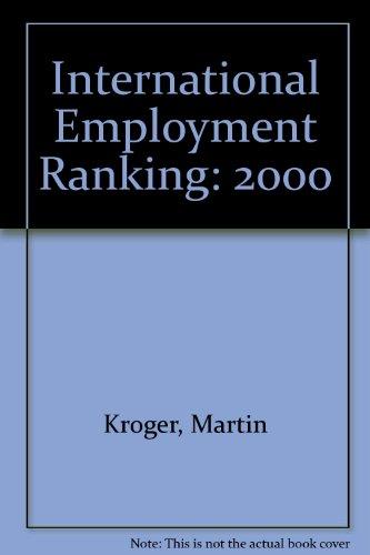 International Employment Ranking 2000: Kroger, Martin; Bertelsmann