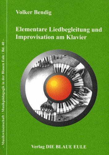 9783892069775: Elementare Liedbegleitung und Improvisation am Klavier