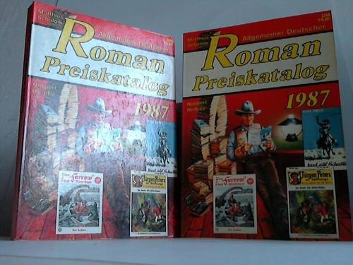 9783892070436: Allgemeiner Deutscher Roman Preiskatalog 1987