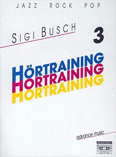 9783892210054: Hörtraining, Jazz Rock Pop, m. Cassette. Bd.3
