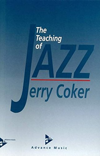 9783892210221: Teaching of Jazz Softback (Advance Music)