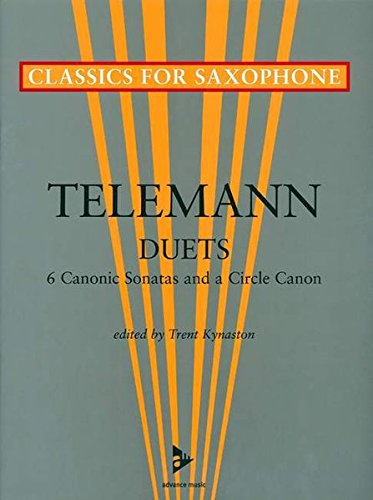 9783892215486: Six Canonic Sonatas and a Circle Canon