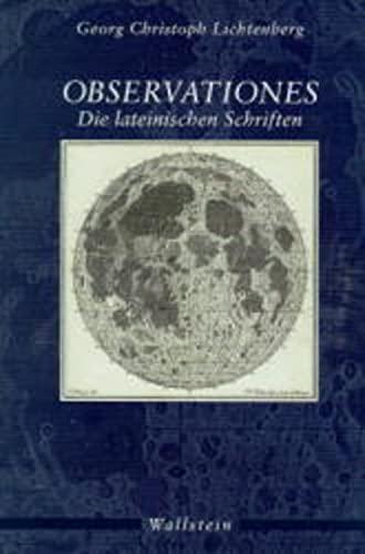 9783892442660: Observationes: Die lateinischen Schriften (Latin Edition)