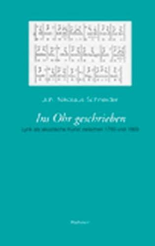 Ins Ohr geschrieben: Joh. Nikolaus Schneider