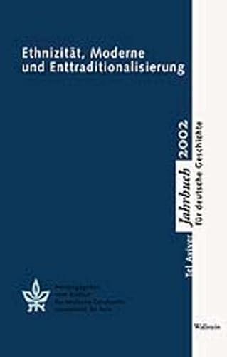 Ethnizität, Moderne und Enttraditionalisierung. Tel Aviver Jahrbuch: Hg. von Moshe