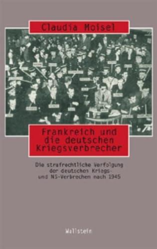 9783892447498: Frankreich und die deutschen Kriegsverbrecher.