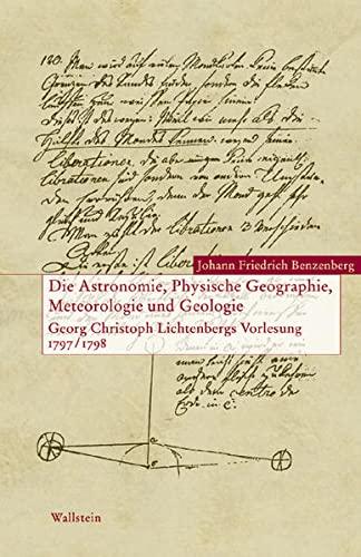 9783892448167: Die Astronomie, Physische Geographie, Meteorologie und Geologie.