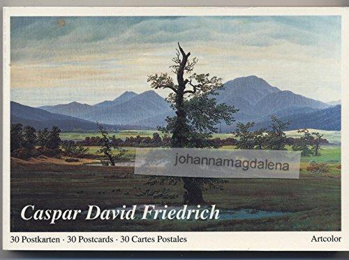 9783892616191: Caspar David Friedrich. 30 farbige Postkarten.